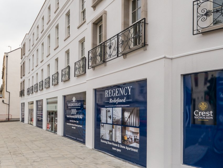 Vitruvius Advises on New Commercial Space for Crest Nicholson in Gloucester Place, Cheltenham