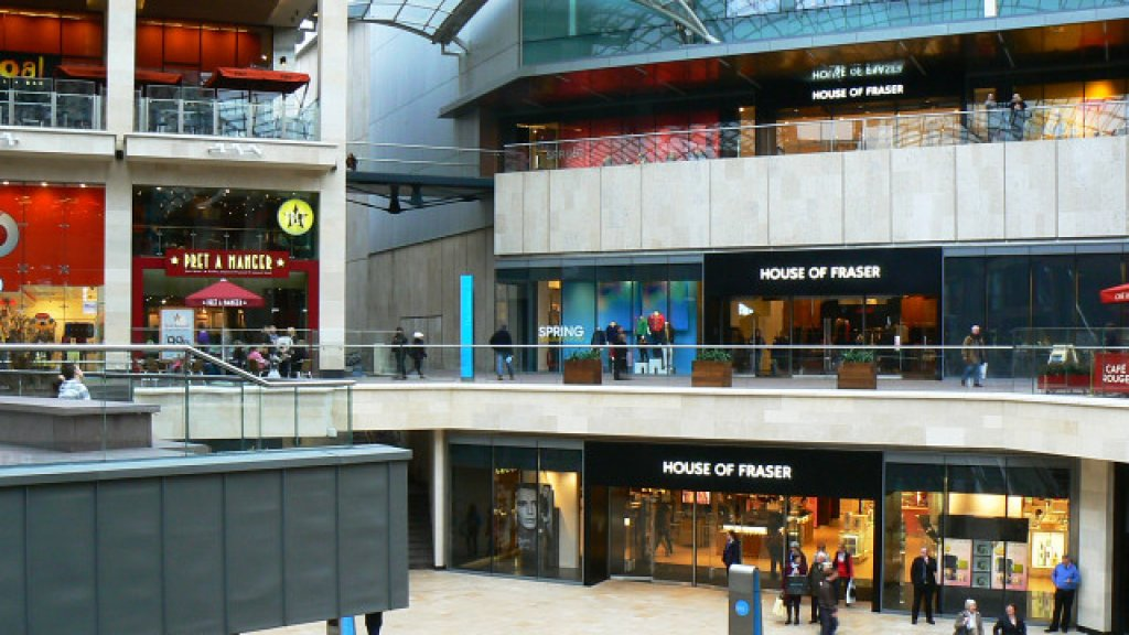 House of Fraser, Cabot Circus